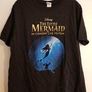 Disney Little Mermaid Live Ariel shirt 2016 XL